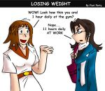 Losing weight by fiori-party