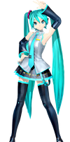 DT MIKU TO TEXTURE MG+DL by frede15