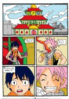 Double Test Subject NATSU VS. ROMEO Pg.1 by Somdude424