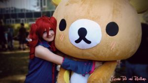 Kasane Teto and Rilakkuma by Kida-kun