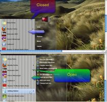 New Start Menu for windows 7 by fares123