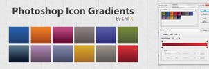 PS Adobe Icon Gradients by ChiliKDesign