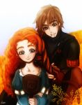 Merida and Hiccup ( request ) by Esther-fan-world