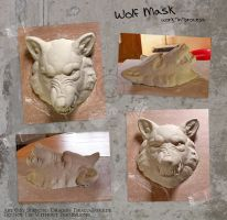 Wolf-Mask WIP by Strecno