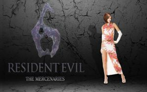 Resident evil 6. Mersenaries. Ada by Taitiii