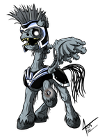 MLP: Blackest Night - Commander Hurricane by Cynos-Zilla