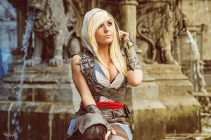 Jessica Nigri - Assassin's Creed - Ubisoft by ShashinKaihi