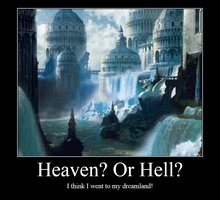 Heaven or Hell? by WolfLover887
