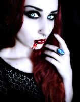 Vampire Elena-Blood by Darkest-B4-Dawn
