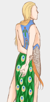 Peacock Dress by luddles