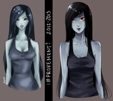 Marceline Redraw by seyuri