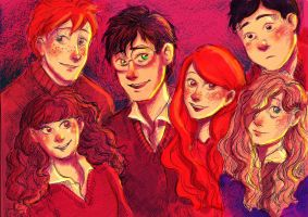 Harry Potter by pebbled