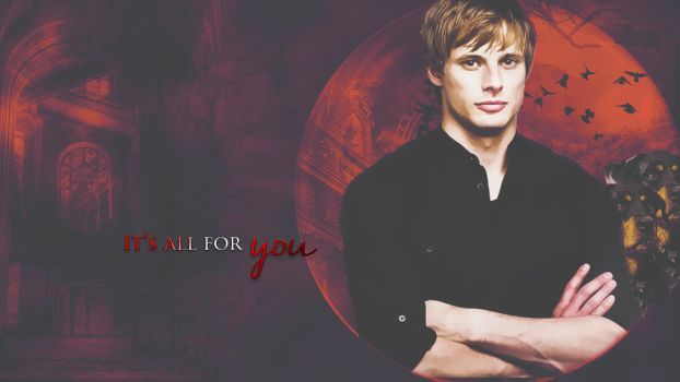 Damien Thorn || It's all for you by LivingDeadSmurf