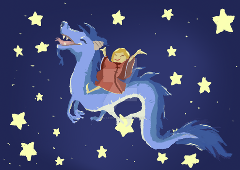To the Stars! by Elisa-Lemming
