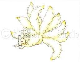 Ninetails by stormwhisper02