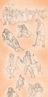 The Hobbit Sketches by Tsenny