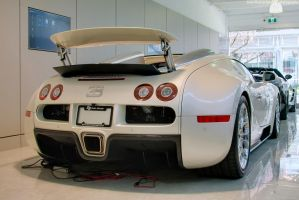 Creamy Veyron by SeanTheCarSpotter