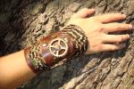 Steampunk handcuff pheasant by rain2shine