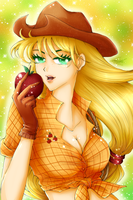 Applejack by wickedz