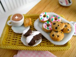 Sweets galore in miniature by AlliesMinis