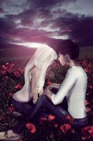 Romance in the Poppies by olivia-paige