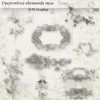 decorative elements mix by libidules