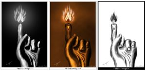 Candle Finger by turbotrol