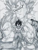 Ultimate Vegeta by dsx100