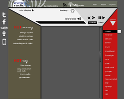 metro radio web interface by phantommenace2020