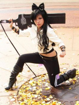 Blake Belladonna - Hatred for Torchwick by CrystalMoonlight1
