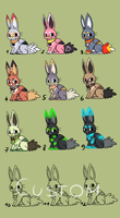 Bunny Griffs point adopts - OPEN by Chigle