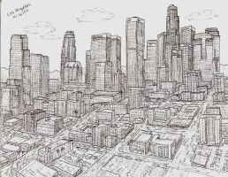 Downtown Los Angeles by pag293