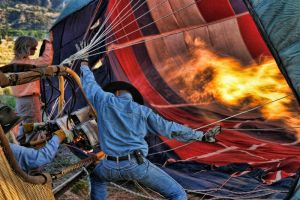Just a lot of hot air.... by CurvedLightStudio
