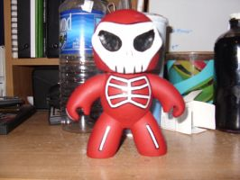 Skull Mighty mugg by twisted-stoner11