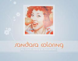 Sandara Psd Coloring by Silent-yelling