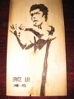 Bruce Lee Plaque by tdub123