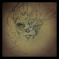 Sugar Skull by Alonzo-Canto