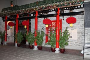 Chinese house or shop by joelshine-stock