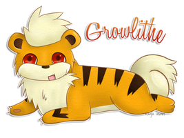 Growlithe by 1nfinitize