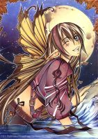 Golden Butterfly by Kaiko-Yoshinary