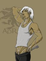 Blood and Oil Fenris human by AgeOfRogues