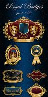 Royal Badges/Frames part 1/2 by ArtoriusGothicus