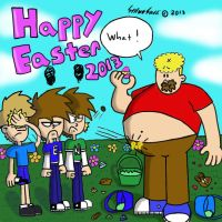 Happy Easter 2013 by StephenRStorti91