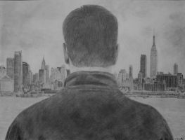 The Bourne Ultimatum Drawing by Swaal