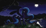 Goddess Of The Moon by AMPGamer