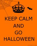 .:Keep Calm And Go Halloween:. by Amabyllis