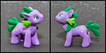My Little Pony-dragons: Spike by HowManyDragons