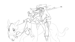 Pookie is carrying Leandro - WIP by crazyrems