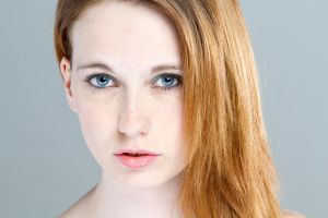 studio head shot by Arielle-Fox