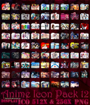 Anime Icon Pack 12 by Reyhan06